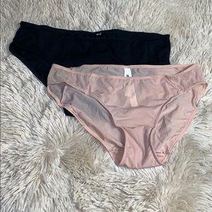 1062b62507688 Madewell Intimates   Sleepwear - NWOT MADEWELL • Sheer Mesh Nude   Black  Undies Set